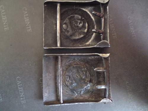 The Finnish wwii buckles