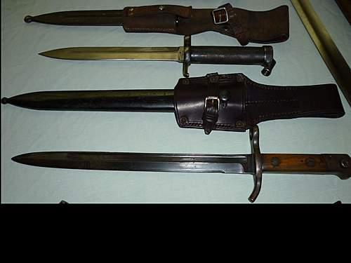 Click image for larger version.  Name:Swedish M96 bayonet, Finnish M35 bayonet.jpg Views:665 Size:216.7 KB ID:395531