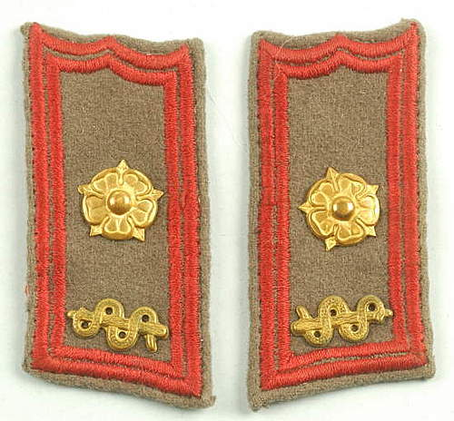 Click image for larger version.  Name:Finnish Medical Officer collar tabs.jpg Views:169 Size:43.4 KB ID:396362