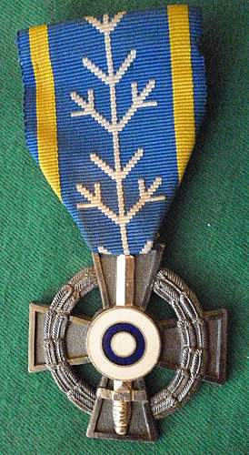 Click image for larger version.  Name:my Commemorative Medal for Swedish Volunteers in the Winter War and Continuation War front.jpg Views:438 Size:247.3 KB ID:396828