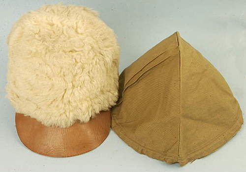 Click image for larger version.  Name:Swedish WW2 Military Fur Hat and British WW2 Helmet Cover.jpg Views:1590 Size:20.3 KB ID:396861