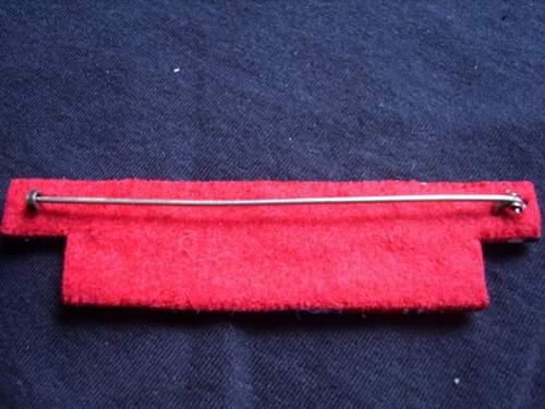 BRD 57er Ribbon bar......