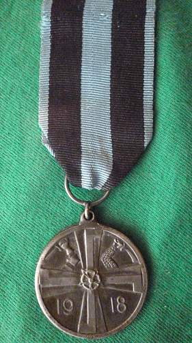 Commemorative Medal of the War of Liberation