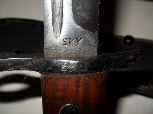 Opinion wanted on authencity of Finnish M39 bayonet...