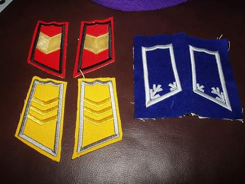 Finnish Collar Tabs
