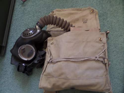 British ww2 Gasmask Finnish Army used in ww2