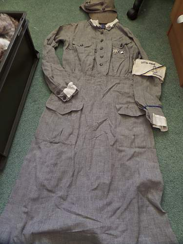 Finnish ww2 Helsinki Lotta uniform