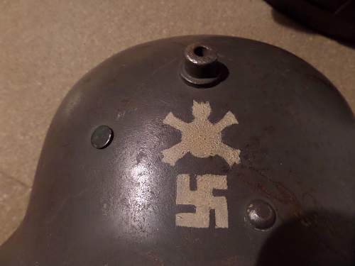Finnish used Helmets from my collection