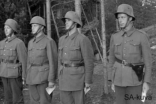 Svenska Frivilligkåren tunic