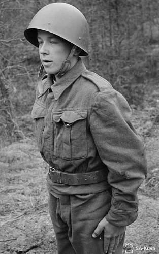 British battledress 37 in finnish army service 1941 -44