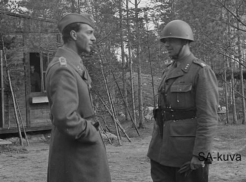 Swedish uniforms in Finland 1941 - 44