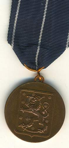 continuation war medal