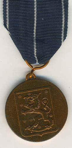 Click image for larger version.  Name:Continuation war medal  swedish.jpg Views:23 Size:73.5 KB ID:655621