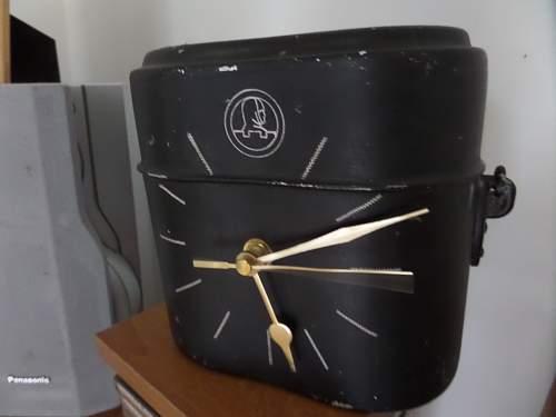Finnish Vet  mess tin clock