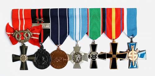 Finnish Medal Bar