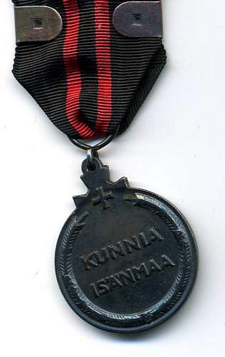 Battle of Suomussalmi and finnish winter medal