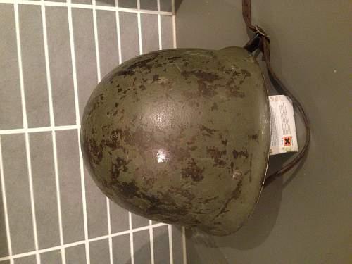 Finnish m/40 helmet