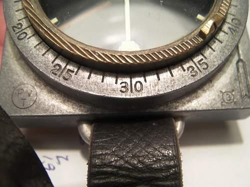 "Finnish M34 ""SA"" marked Compass"