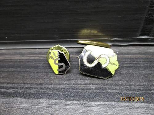 civil guard cuff buttons
