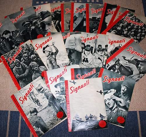 """German wartime magazine """"Signal"""" in Finnish"""