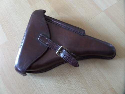 Finnish Army ww2 Luger Holster