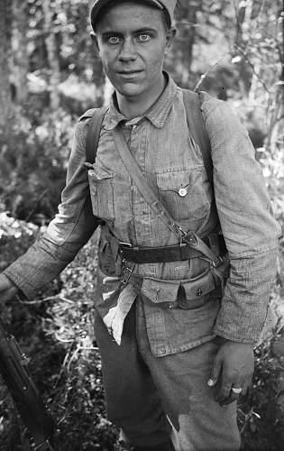 Continuation War Finnish Bandolier