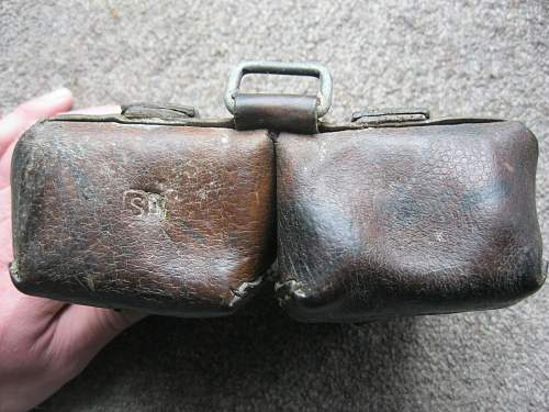 Another slightly uncommon Finn used ammo pouch...