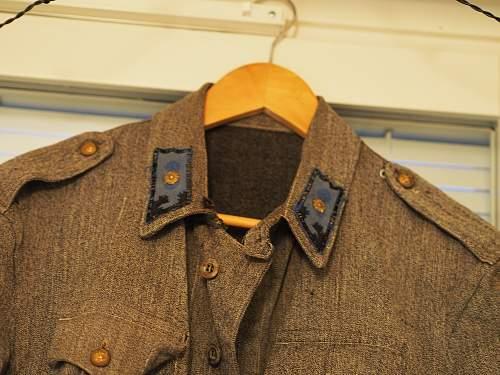 Finnish Airforce Second-lieutenant summer blouse