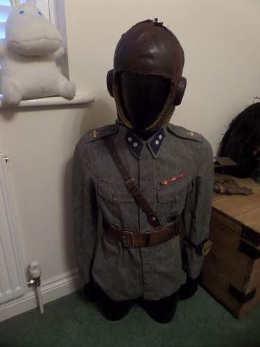 new pick up Finnish Airforce  tunic