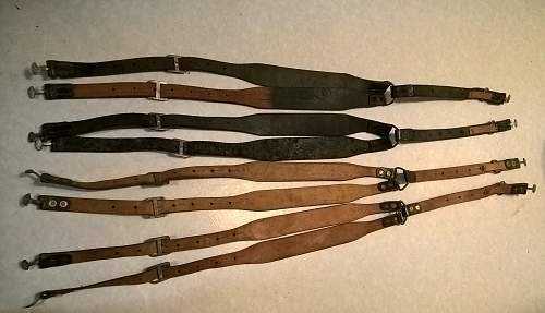m/22 and m/34 finnish Y-straps