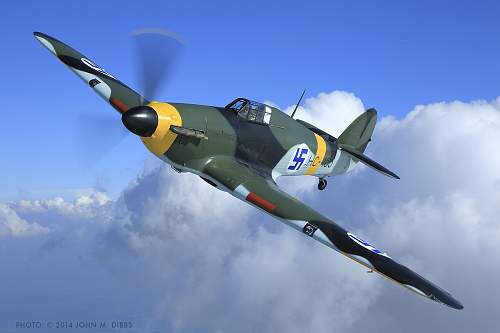 Hawker Hurricane in the Finnish Air Force