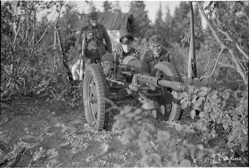 Finnish 20mm Madsen auto-cannon magazines with baskets