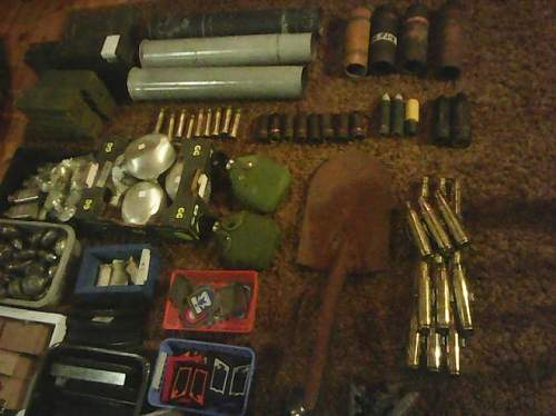 Recent purchase, a fairly large lot of German and Finnish militaria. WWII and post war