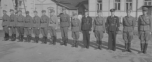 Finnish airforce m27 Pliots uniform