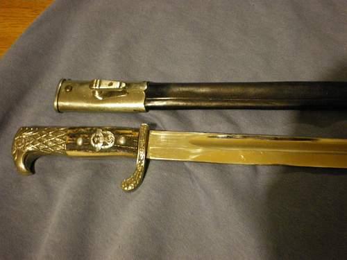 ww2 german police dagger