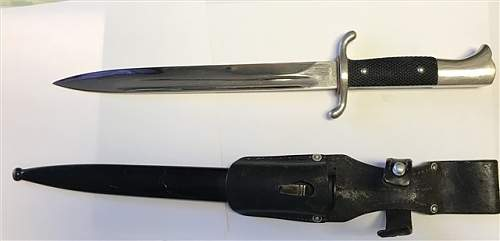Fire Police Dress Bayonet
