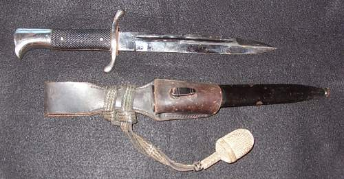 fire officers bayonet