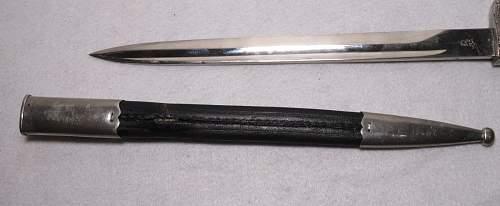 WWII German Police Bayonet Real or Fake?