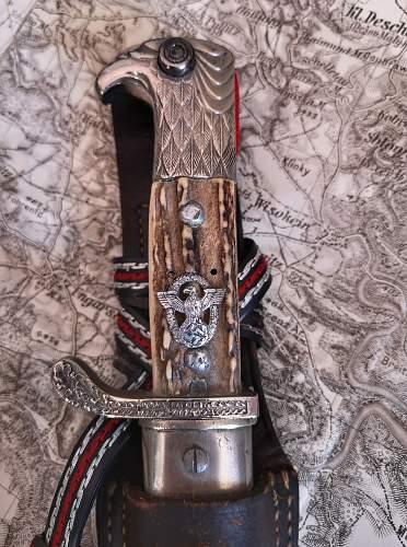 Gendarmerie bayonet, slotted version by P.D. Luneschloss