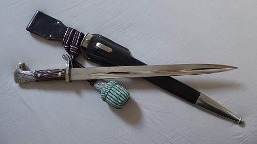 P.D.Luneschloss Police bayonet