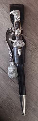 Polizei Clamshell bayonet / SA Feldjagerkorps