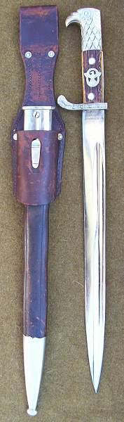Rural Police Bayonet