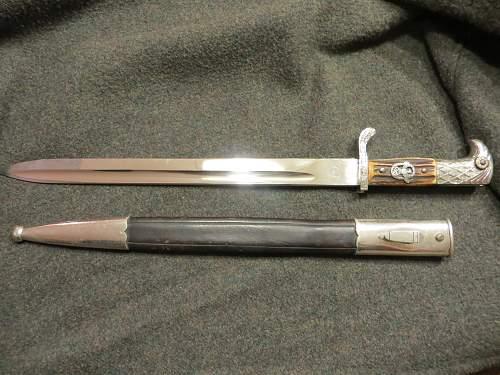 My new Police Bayonet