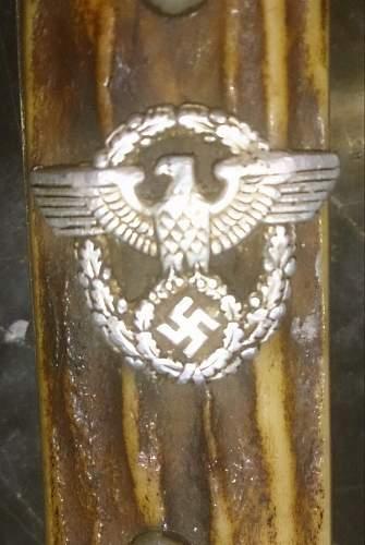 Police bayonet WKC