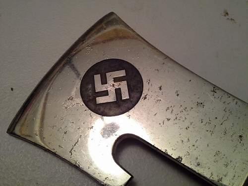 Third Reich Fireman's Axe
