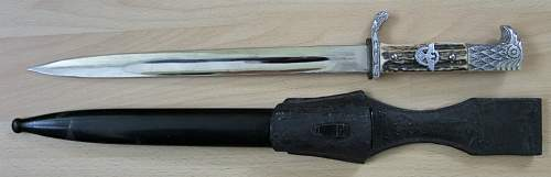 Police short bayonet - ask for help