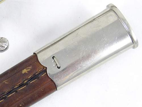 Weimar Prussian Clamshell Police Bayonet - just acquired...