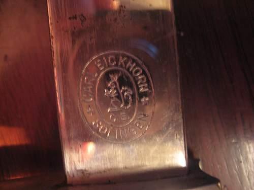 Slotted Police Bayonet Eickhorn