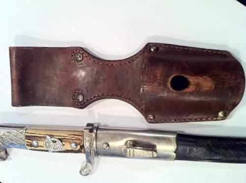 Police bayonet by Eickhorn