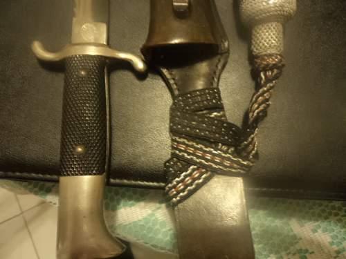 Early Sawback Fireman's Dress Dagger by Eickhorn?